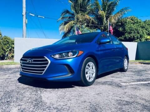 2017 Hyundai Elantra for sale at Venmotors LLC in Hollywood FL