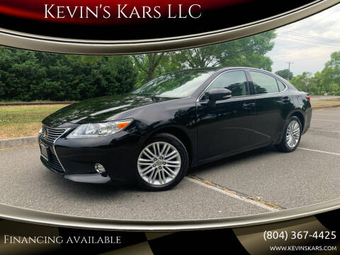 2014 Lexus ES 350 for sale at Kevin's Kars LLC in Richmond VA