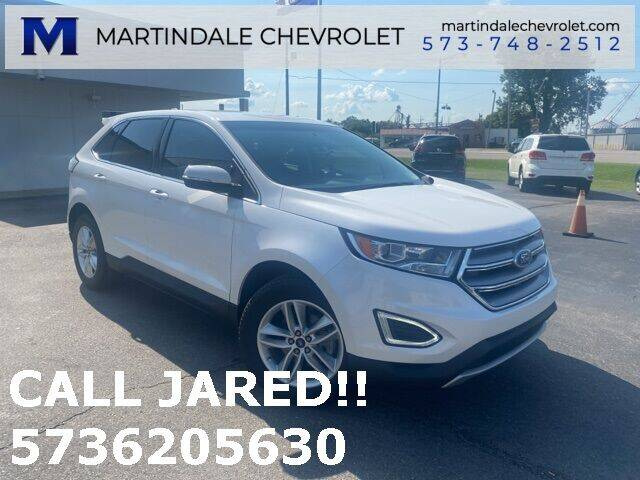 2016 Ford Edge for sale at MARTINDALE CHEVROLET in New Madrid MO