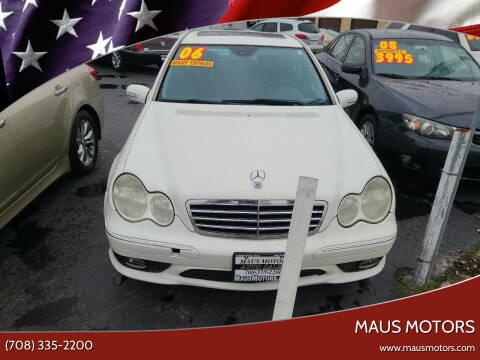 2006 Mercedes-Benz C-Class for sale at MAUS MOTORS in Hazel Crest IL