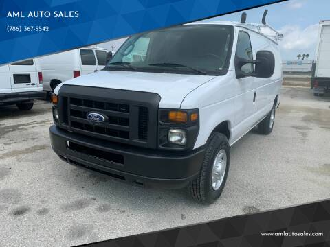 2014 Ford E-Series Cargo for sale at AML AUTO SALES - Cargo Vans in Opa-Locka FL