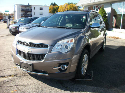 2010 Chevrolet Equinox for sale at Knight Automotive in Southbridge MA