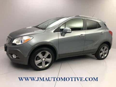 2014 Buick Encore for sale at J & M Automotive in Naugatuck CT