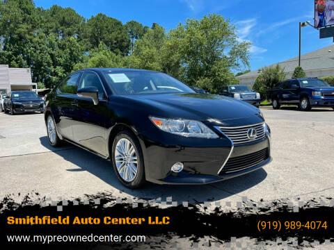 2015 Lexus ES 350 for sale at Smithfield Auto Center LLC in Smithfield NC