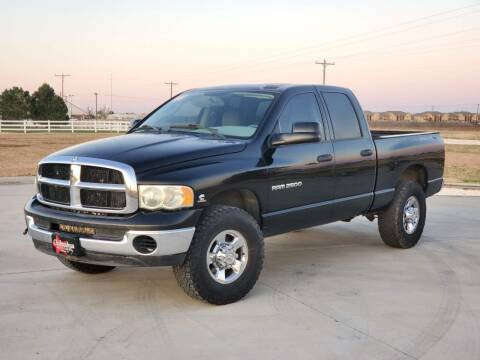 2003 Dodge Ram Pickup 2500 for sale at Chihuahua Auto Sales in Perryton TX