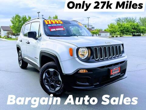 2018 Jeep Renegade for sale at Bargain Auto Sales LLC in Garden City ID