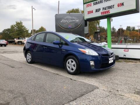 2010 Toyota Prius for sale at Giguere Auto Wholesalers in Tilton NH