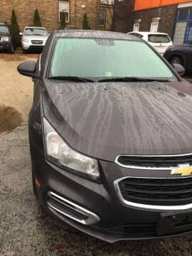 2015 Chevrolet Cruze for sale at 540 AUTO SALES in Chicago IL