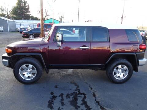 2007 Toyota FJ Cruiser for sale at PG Motors in Portland OR