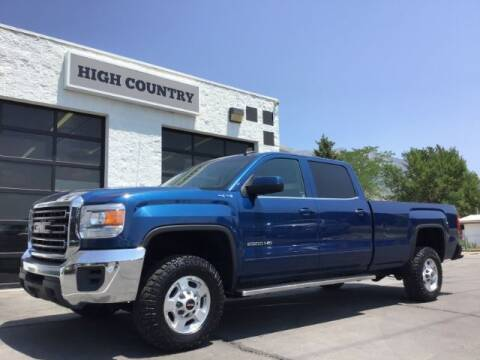 2015 GMC Sierra 2500HD for sale at High Country Motor Co in Lindon UT