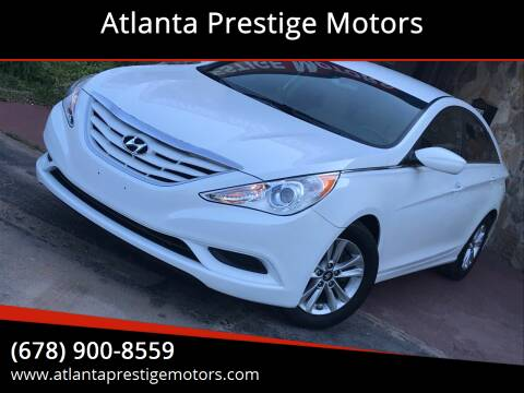 2013 Hyundai Sonata for sale at Atlanta Prestige Motors in Decatur GA