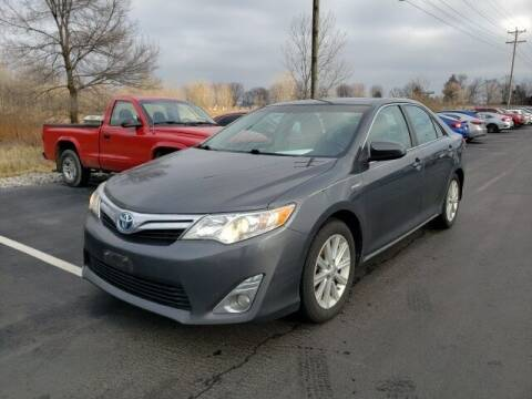 2012 Toyota Camry Hybrid for sale at White's Honda Toyota of Lima in Lima OH
