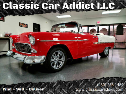 1955 Chevrolet Bel Air for sale at Classic Car Addict in Mesa AZ