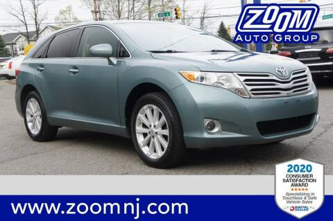 2011 Toyota Venza for sale at Zoom Auto Group in Parsippany NJ