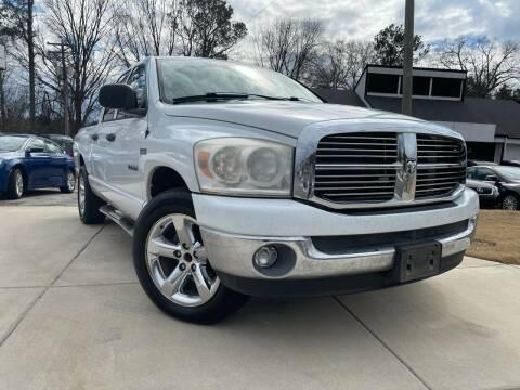 2008 Dodge Ram Pickup 1500 for sale at Alpha Car Land LLC in Snellville GA