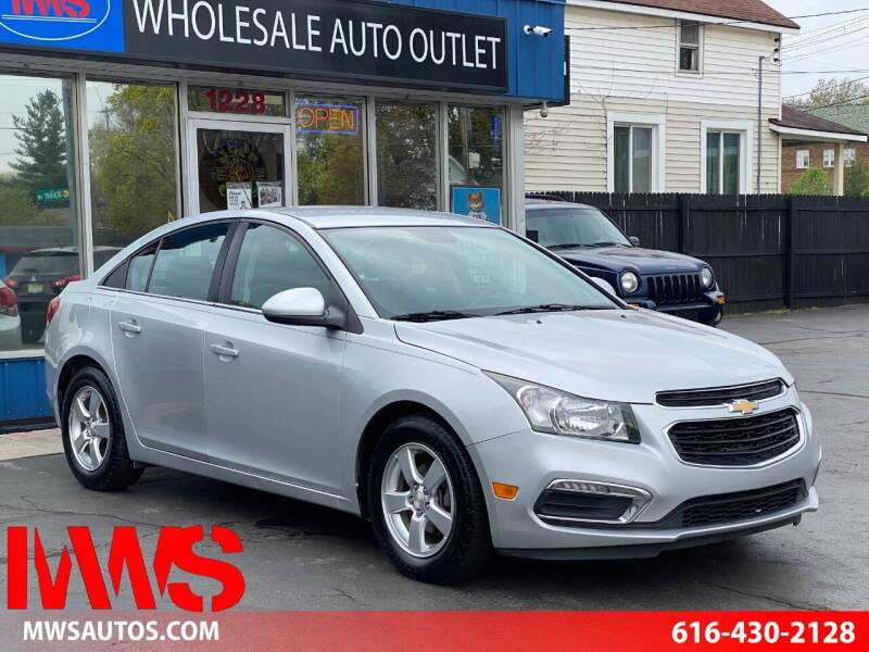 2016 Chevrolet Cruze Limited for sale at MWS Wholesale  Auto Outlet in Grand Rapids MI