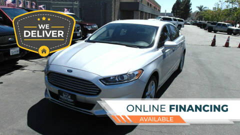 2014 Ford Fusion for sale at So Cal Performance in San Diego CA