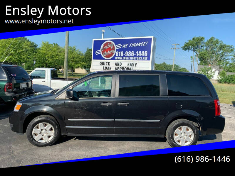 2010 Dodge Grand Caravan for sale at Ensley Motors in Allendale MI