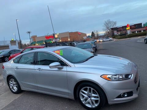 2015 Ford Fusion for sale at Sanaa Auto Sales LLC in Denver CO