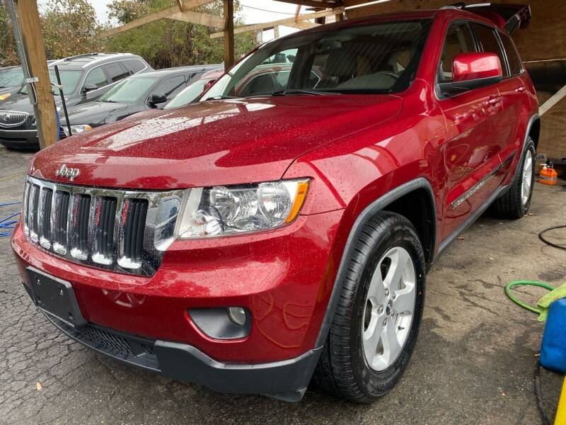 2012 Jeep Grand Cherokee for sale at ATLANTA TRUCK CENTER LLC in Brookhaven GA