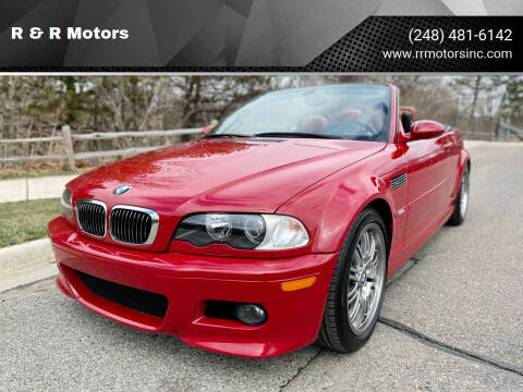 2003 BMW M3 for sale at R & R Motors in Waterford MI