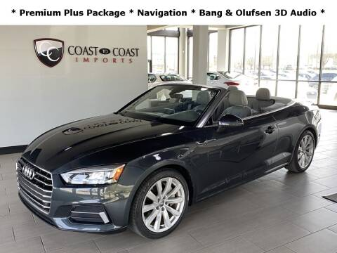 2018 Audi A5 for sale at Coast to Coast Imports in Fishers IN