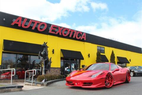 2015 Ferrari 458 Spider for sale at Auto Exotica in Red Bank NJ