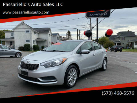 2015 Kia Forte for sale at Passariello's Auto Sales LLC in Old Forge PA