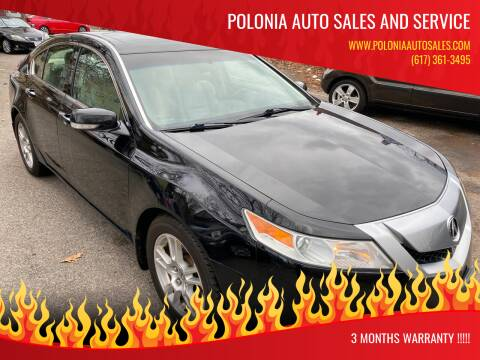 2009 Acura TL for sale at Polonia Auto Sales and Service in Hyde Park MA