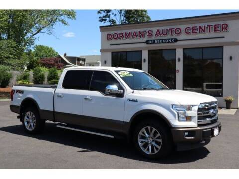 2017 Ford F-150 for sale at DORMANS AUTO CENTER OF SEEKONK in Seekonk MA