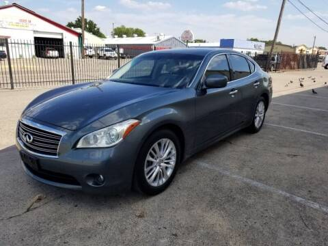2012 Infiniti M37 for sale at A & J Enterprises in Dallas TX