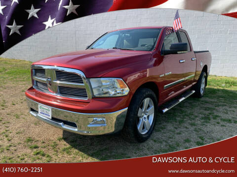 2010 Dodge Ram Pickup 1500 for sale at Dawsons Auto & Cycle in Glen Burnie MD