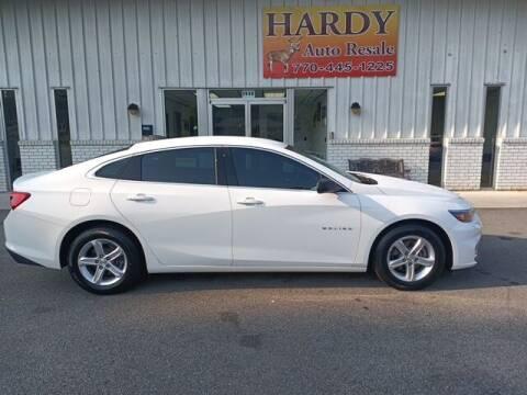 2018 Chevrolet Malibu for sale at Hardy Auto Resales in Dallas GA