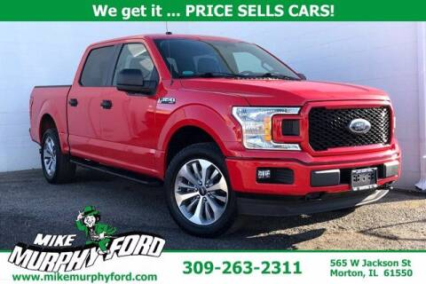 2018 Ford F-150 for sale at Mike Murphy Ford in Morton IL