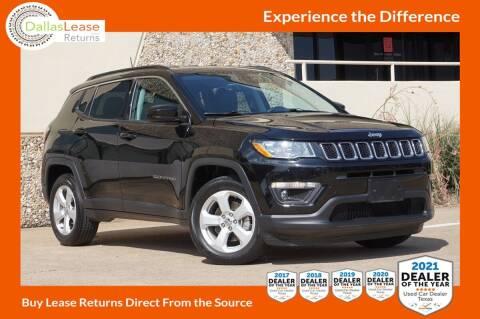 2018 Jeep Compass for sale at Dallas Auto Finance in Dallas TX