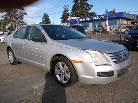 2009 Ford Fusion for sale at All American Motors in Tacoma WA