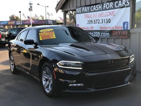 2017 Dodge Charger for sale at Devine Auto Sales in Modesto CA
