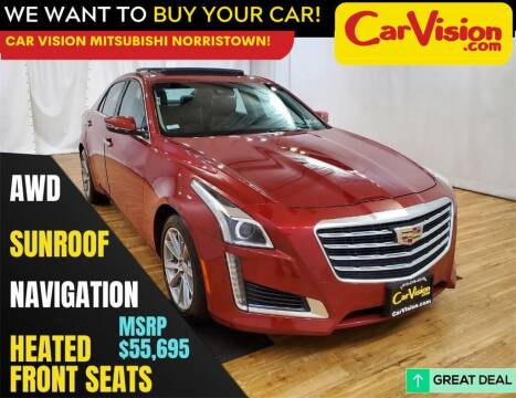 2017 Cadillac CTS for sale at Car Vision Mitsubishi Norristown in Norristown PA