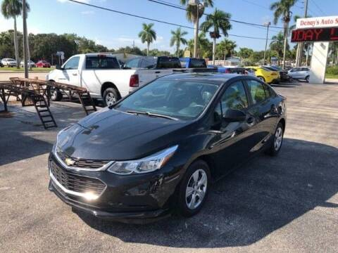 2017 Chevrolet Cruze for sale at Denny's Auto Sales in Fort Myers FL