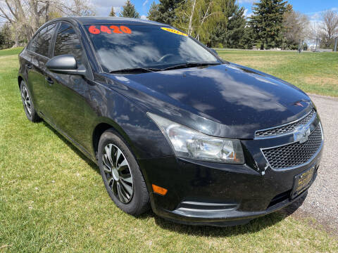 2014 Chevrolet Cruze for sale at BELOW BOOK AUTO SALES in Idaho Falls ID