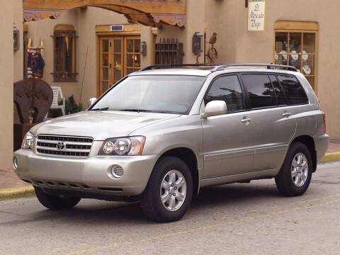2003 Toyota Highlander for sale at Bill Gatton Used Cars - BILL GATTON ACURA MAZDA in Johnson City TN