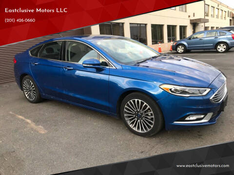 2018 Ford Fusion for sale at Eastclusive Motors LLC in Hasbrouck Heights NJ