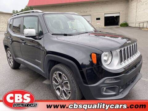 2017 Jeep Renegade for sale at CBS Quality Cars in Durham NC