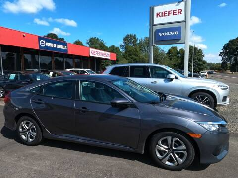 2018 Honda Civic for sale at Kiefer Nissan Budget Lot in Albany OR