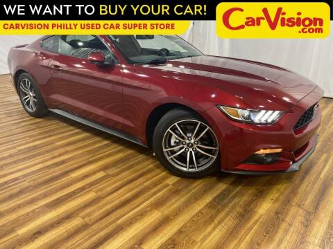 2017 Ford Mustang for sale at Car Vision Mitsubishi Norristown - Car Vision Philly Used Car SuperStore in Philadelphia PA