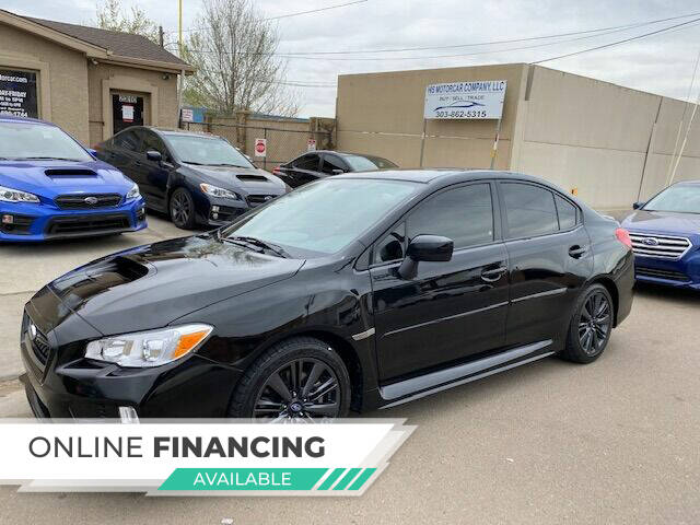 2017 Subaru WRX for sale at His Motorcar Company in Englewood CO