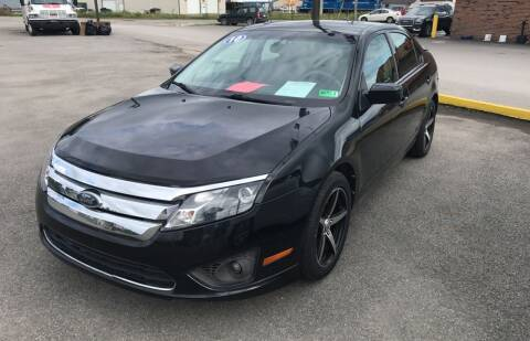 2010 Ford Fusion for sale at RACEN AUTO SALES LLC in Buckhannon WV