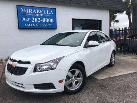 2014 Chevrolet Cruze for sale at Mirabella Motors in Tampa FL