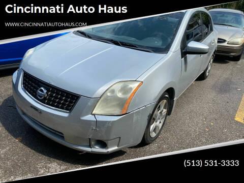 2008 Nissan Sentra for sale at Cincinnati Auto Haus in Cincinnati OH