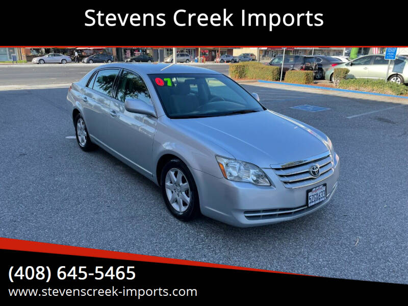 2007 Toyota Avalon for sale at Stevens Creek Imports in San Jose CA